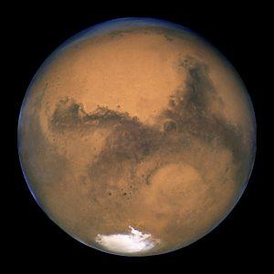 Planeta Mars. Foto: NASA/ESA