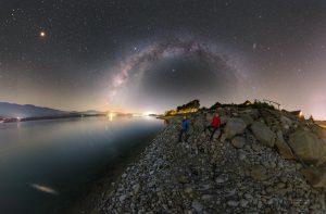 Vyhlížení Marsu od Liptovské Mary na Slovensku. Foto: Petr Horálek.