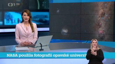 Reportáž v České televizi