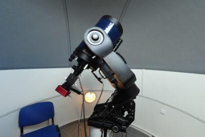 Dalekohled MEADE v observatoři WHOO!
