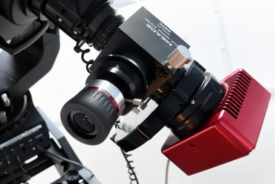 CCD kamera na telescopu WHOO!