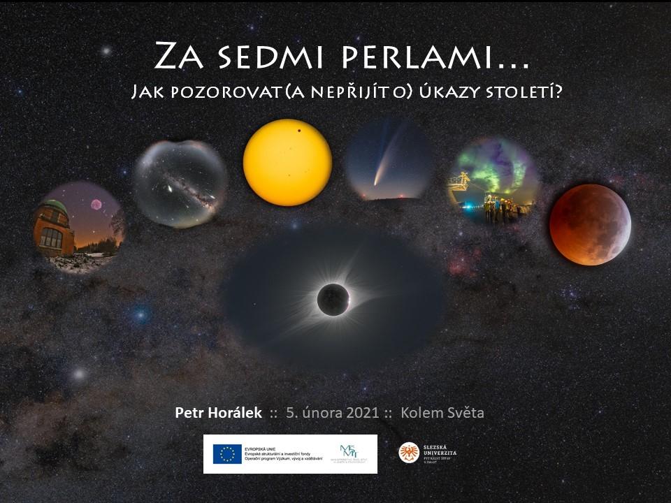 Přednáška Sedm perel astronomie